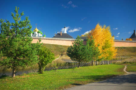 Savior-Euthymius Monastery in Suzdal.The Golden Ring of Russia
