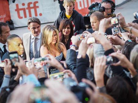 jennifer: TORONTO - SEPTEMBER 14  Jennifer Aniston arrives at the Toronto International Film Festival for her new film Life of Crime on September 14, 2013  Editorial