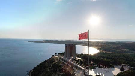 Péninsule de Canakkale Gallipoli, Mémorial des martyrs de Canakkale Banque d'images