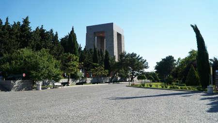 Turkey's Gallipoli peninsula, Canakkale Martyrs Memorial