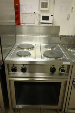 Professional cooking range photo