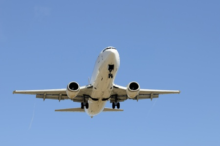 Aircraft on approach photo