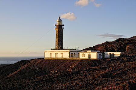 El Hierro, Canary Islands, Lighthouse Faro de Orchilla photo