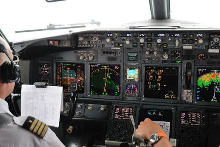 Airplane Instruments primary flight display