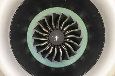 Turbofan detail