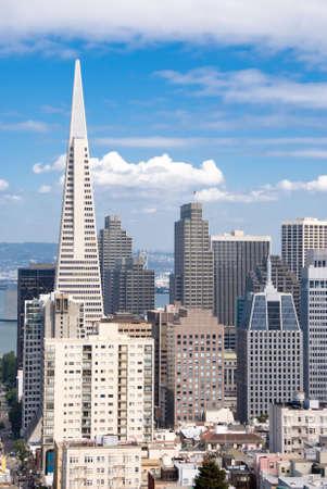 transamerica: Financial District in San Francisco.