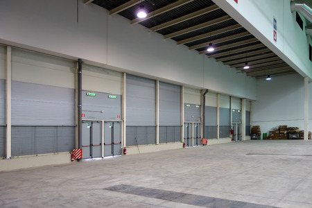 prefab: Interior Empty Warehouse