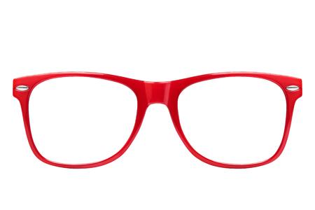 分離された正面図 pf 赤眼鏡