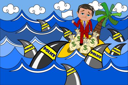 降伏税逃げる人実業家