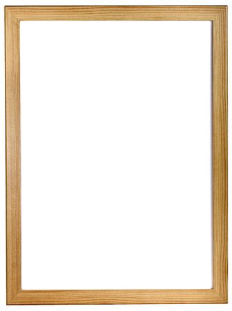 whitespace: Blank whiteboard in wood frame isolated Stock Photo