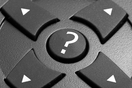 uncertainty: Uncertainty or doubts on which direction to take Stock Photo