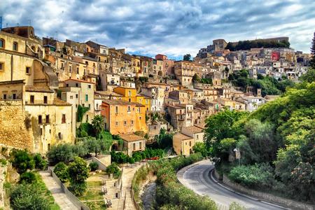 ragusa: Sicily Italy Ragusa Historical Stock Photo