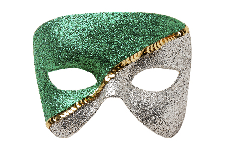 theatre masks: Carnival Mask Isolated Stock Photo