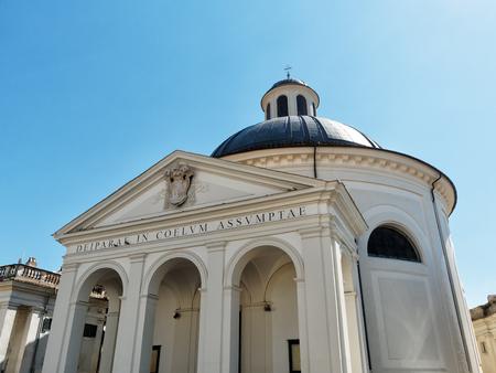 Bernini s Church facade Ariccia Italy