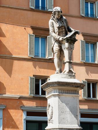 Galvani statue Bologna in Italy