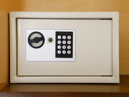 Locked Safe with digital access technology