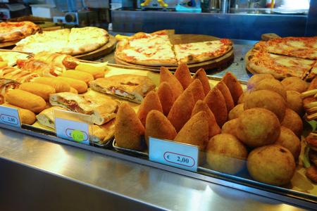 Pizza Supplì Arancino italian special snacks
