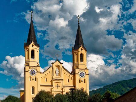 Church of Santa Maria Assunta in Brunico Italy