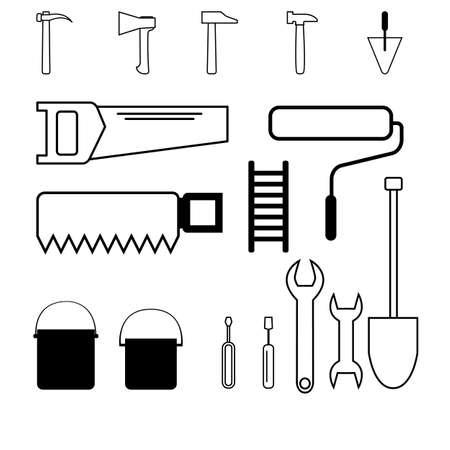 construction, paint, repair, carpentry materials