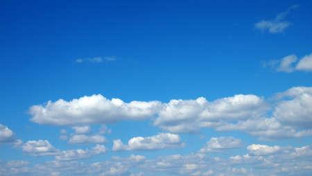 cumulus clouds Archivio Fotografico