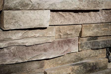 Tan Brick Wall Imagens