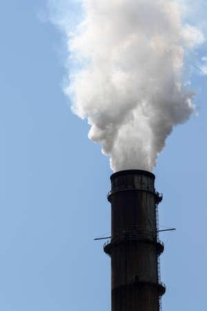 smoke stack: Image of a Big Smoke Stack