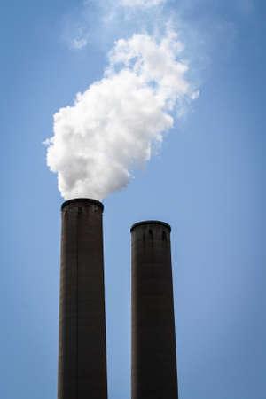 Image of Twin Smoke Stacks photo