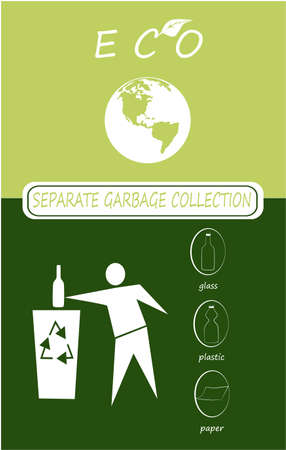separate garbage collection, set sorting symbol urban