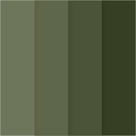 Collection of Chive green colors. Chive green color of the year 2020 inscription. New trendy colors