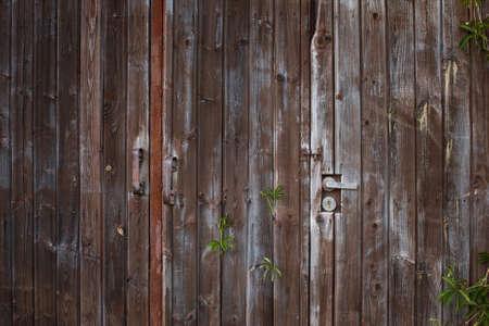old times: Old door