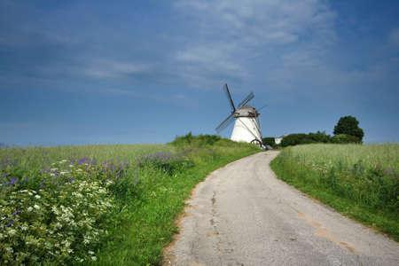 north holland: Holland mill in Estonia