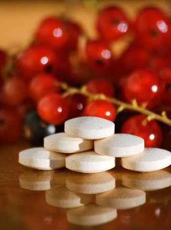 helthcare: vitamin tablets