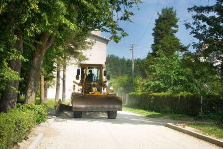 Road works photo