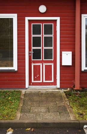 Red door photo