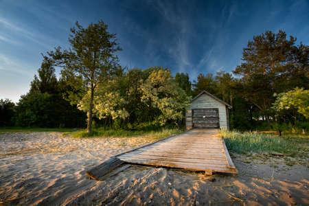 hobby hut: Boat-house