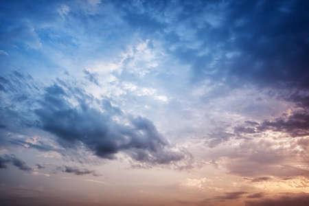 Dramatic clouds Reklamní fotografie
