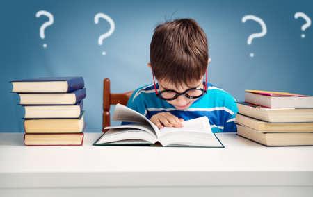 7 歳の子の本を読んで