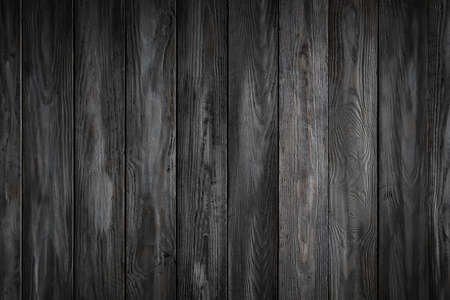 Gray wooden background with old painted boards Reklamní fotografie