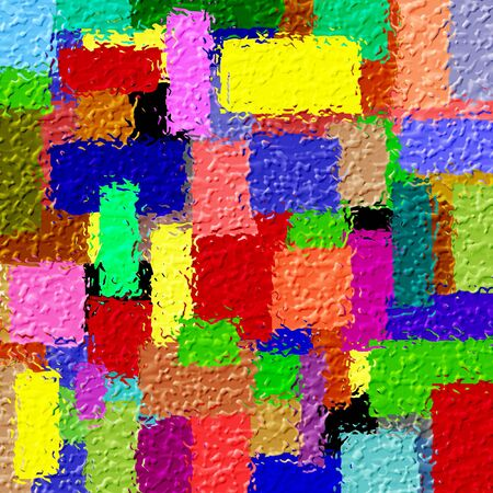 Colorfull squares Stock Photo