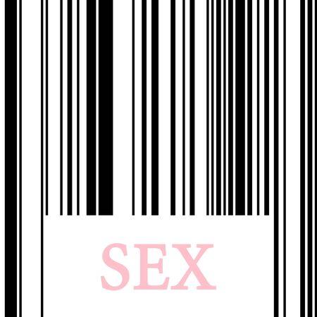 whore:  barcode Stock Photo
