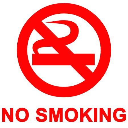 danger of life: No smoking sign