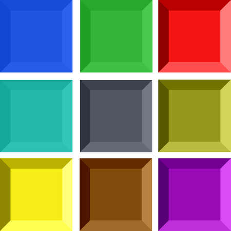 Square buttons Stock Photo - 949471