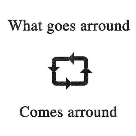 goes: What goes arround comes arround