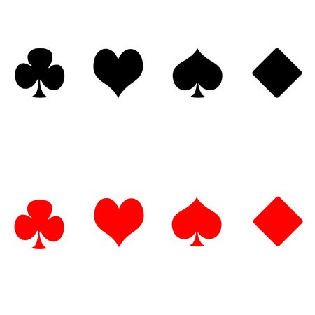 Playing card suits photo