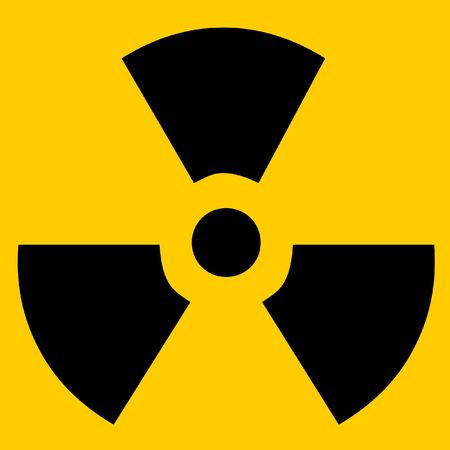 Radioactive sign Stock Photo - 956972