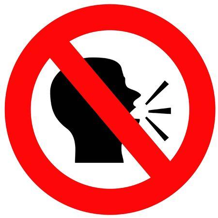 stil zijn: Spreek niet