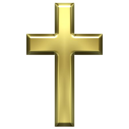 christian cross: Golden Cross