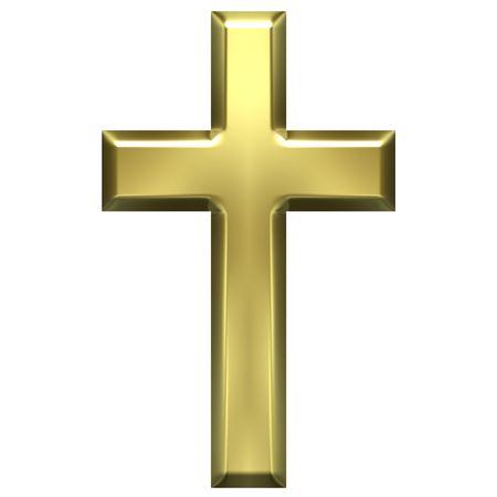 Golden Cross  Lizenzfreie Bilder