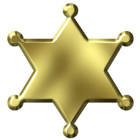 shinning: Sheriffs Badge