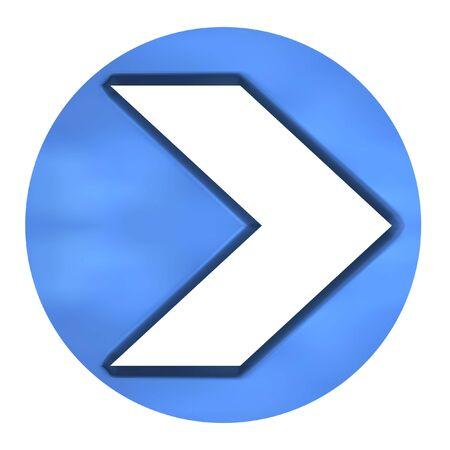 azure: 3D Azure Arrow Button